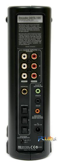 Podłączenie głośników komputerowych 5.1 do telewizora