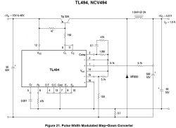 TL494 moduł do przetwornicy - proszę o sprawdzenie
