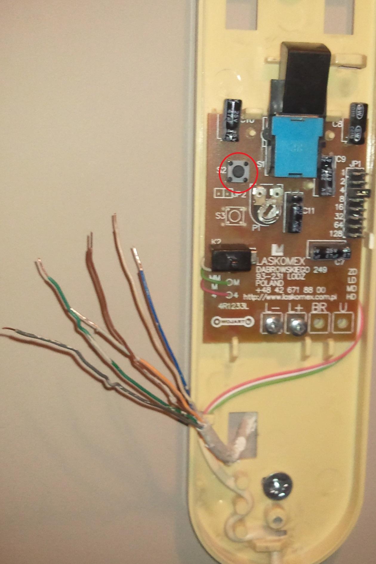 Laskomex LM-8W elektromagnes nie dzia�a