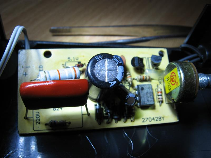 Stroboskop LED / dodanie opcji ci�g�ego �wiecenia.