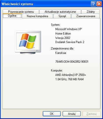 ASRock K7S8X, Radeon HD 3600 series - instalacja sterownik�w grafiki pod Win XP