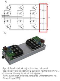 Dobór kondensatorów w stopniu pośrednim falownika