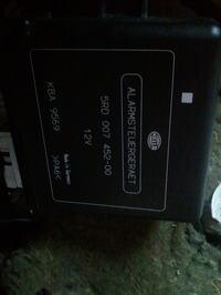 Odcięcie zapłonu w alarmie HELLA alarmsteuergeraet PA6 zamontowany w Audi b5 93r