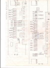 samsung UE46B7000 - Jakie napięcia na T-CON ?