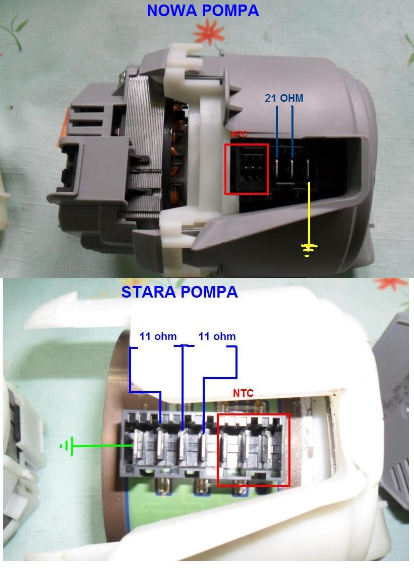 SMS50E58EU Bosch  - zmywarka - pod��czenie pompy