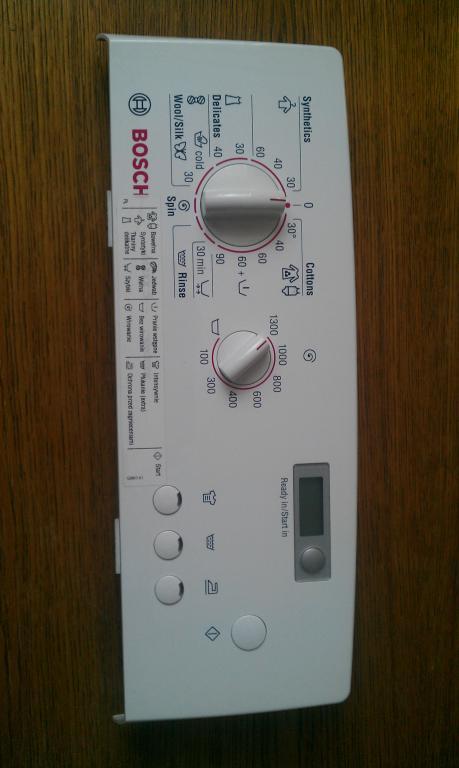[Sprzedam] panel sterowania - elektronika pralki BOSCH WOT26350BY