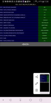 Scenic 2 - hamulec postojowy błąd DF046, DF059, DF015...