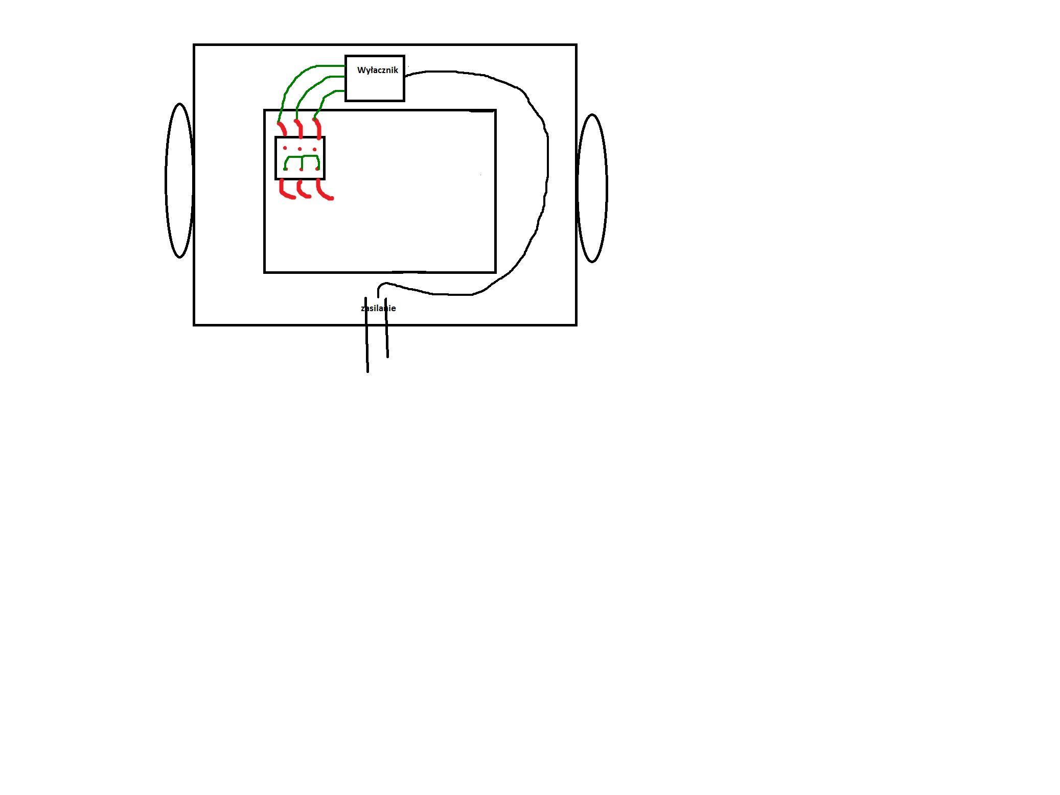 Elna/SZ 750/200 - Jak pod�aczy� szlifierk� sto�ow� Elna SZ 750/200  380V?