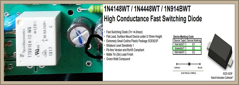 Whirlpool ADG 7665/1 - Schemat modułu lub dokładne zdjęcie WP D1403