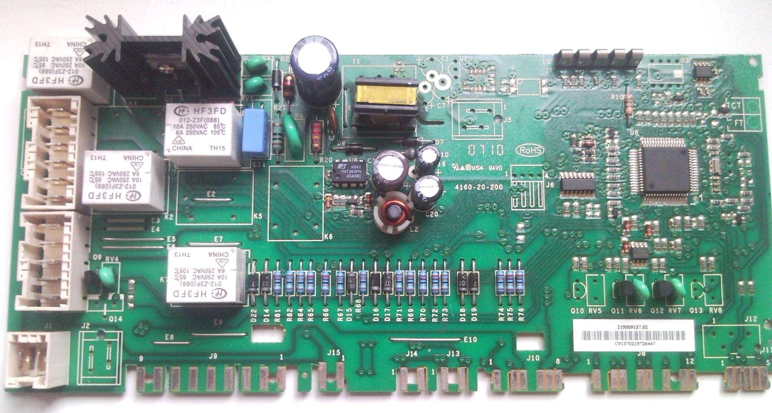 Indesit WITP 102 - Uszkodzenie modu�u, pro�ba o identyfikacj� element�w SMD.