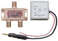 2 wzmacniacze samochodowe - antenowe FM łączenie przez sumator?
