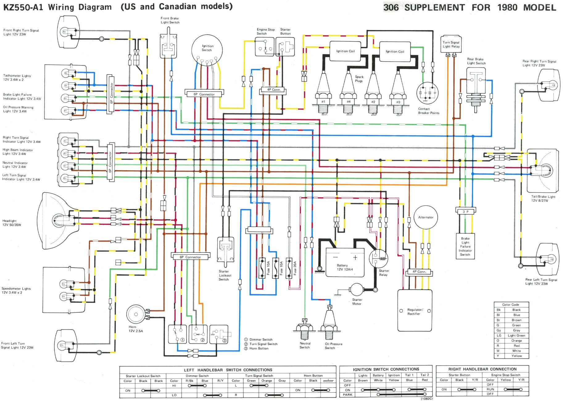 1981 Kz550 Ltd Wiring Diagram Archive Of Automotive A Amp E 82 Toyota Corolla Kawasaki Kz750 Auto Electrical Rh Doesitsuit Me