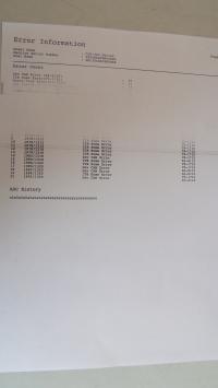 Drukarka Samsung CLP-360 - Białe pasy na wydruku.