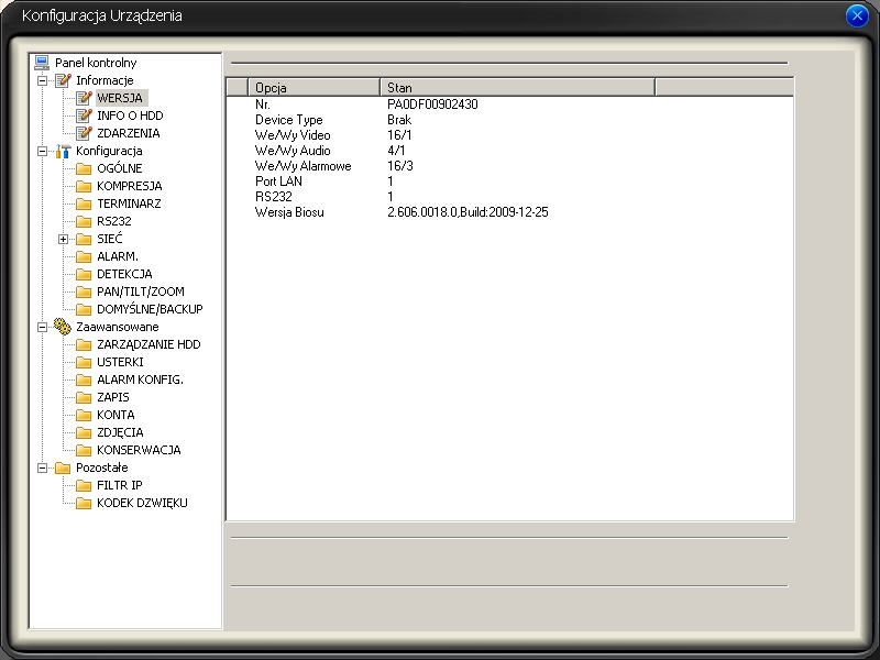 [BCS-1604LE-A]  Dw pytania firmware i multicast