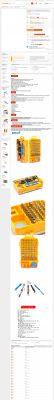 108-elementowy zestaw narzędzi z AliExpress za 14$ - krótki opis.