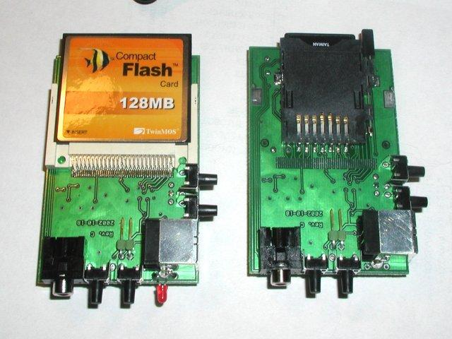 Yampp-7, odtwarzacz mp3 na karty pami�ci