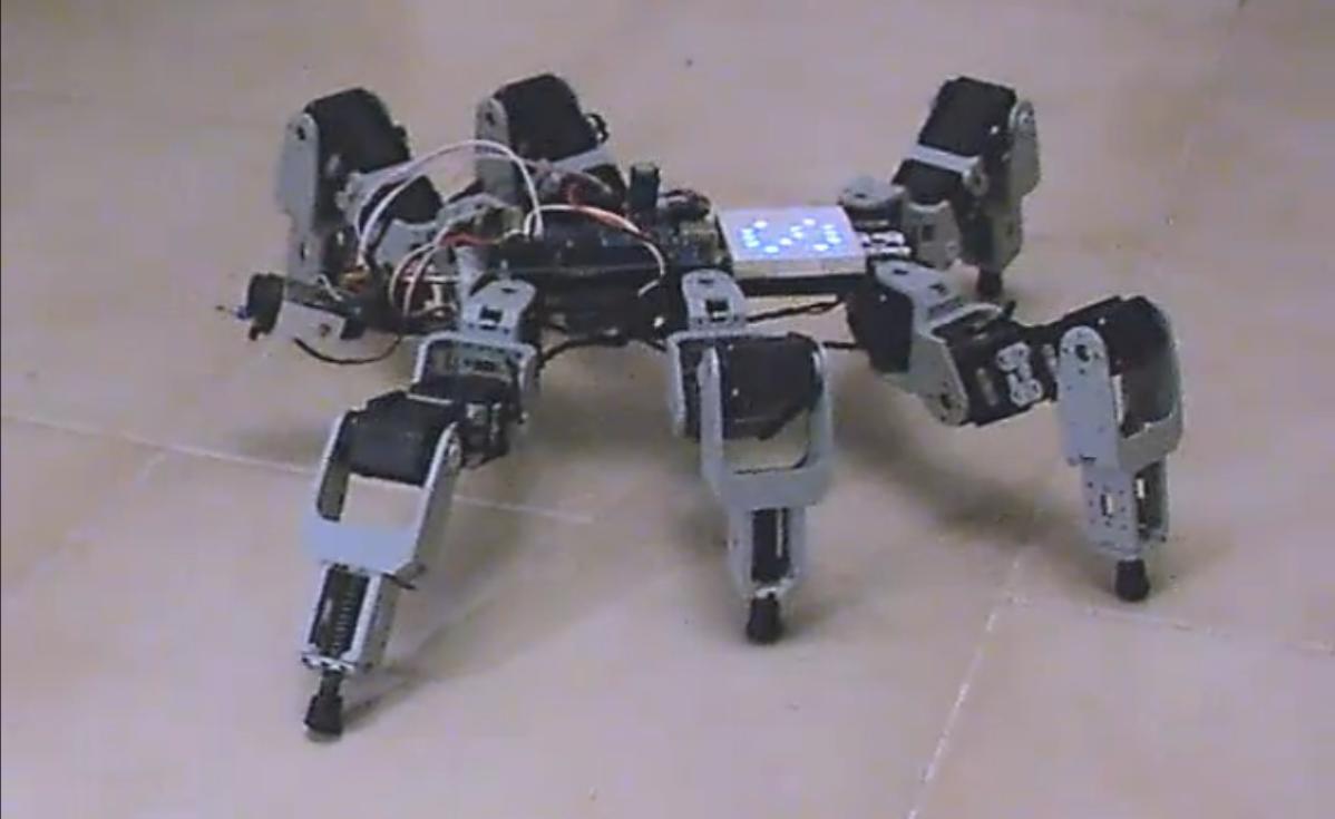 Robot Samsa II z matryc� LED