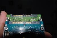 MSI cx600x - Nie do końca obsługuje dysk WD7500BPKT - niekontaktujące styki.