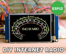 Internetowe radio na ESP32