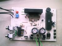 Stereofoniczny wzmacniacz klasy D TDA7490,TDA7449 i AT89S52