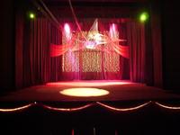 Oświetlnie sceny dla Domu Kultury.