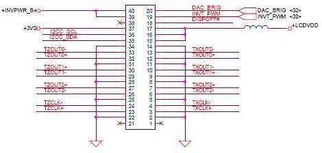 Acer Aspire 3100 - montaż matrycy z modelu TravelMate 8200