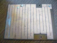 płyta grzewcza- stworzenie na laminacie