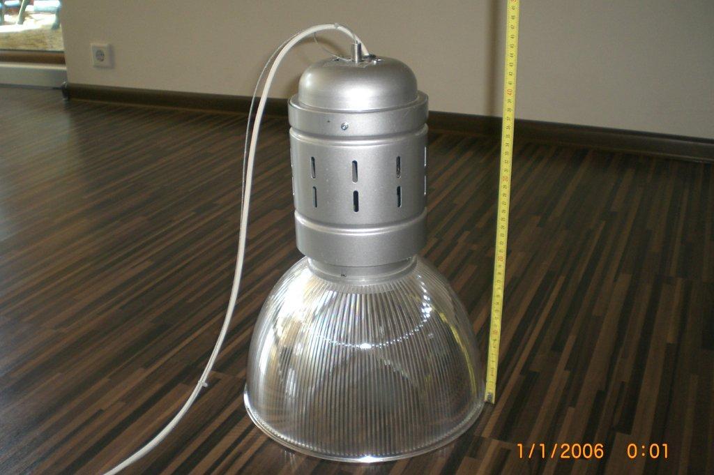 Sprzedam Lampy Przemysłowe Wiszące Na Lince Stalowej