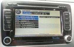 RNS 510 - brak podświetlenia ekranu po aktualizacji