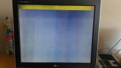 LG Flatron L1720B - Paski na ekranie