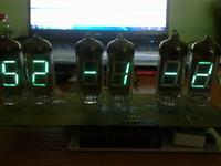 [Atmega8515][C] Program zegara na lampach VFD - duchy.