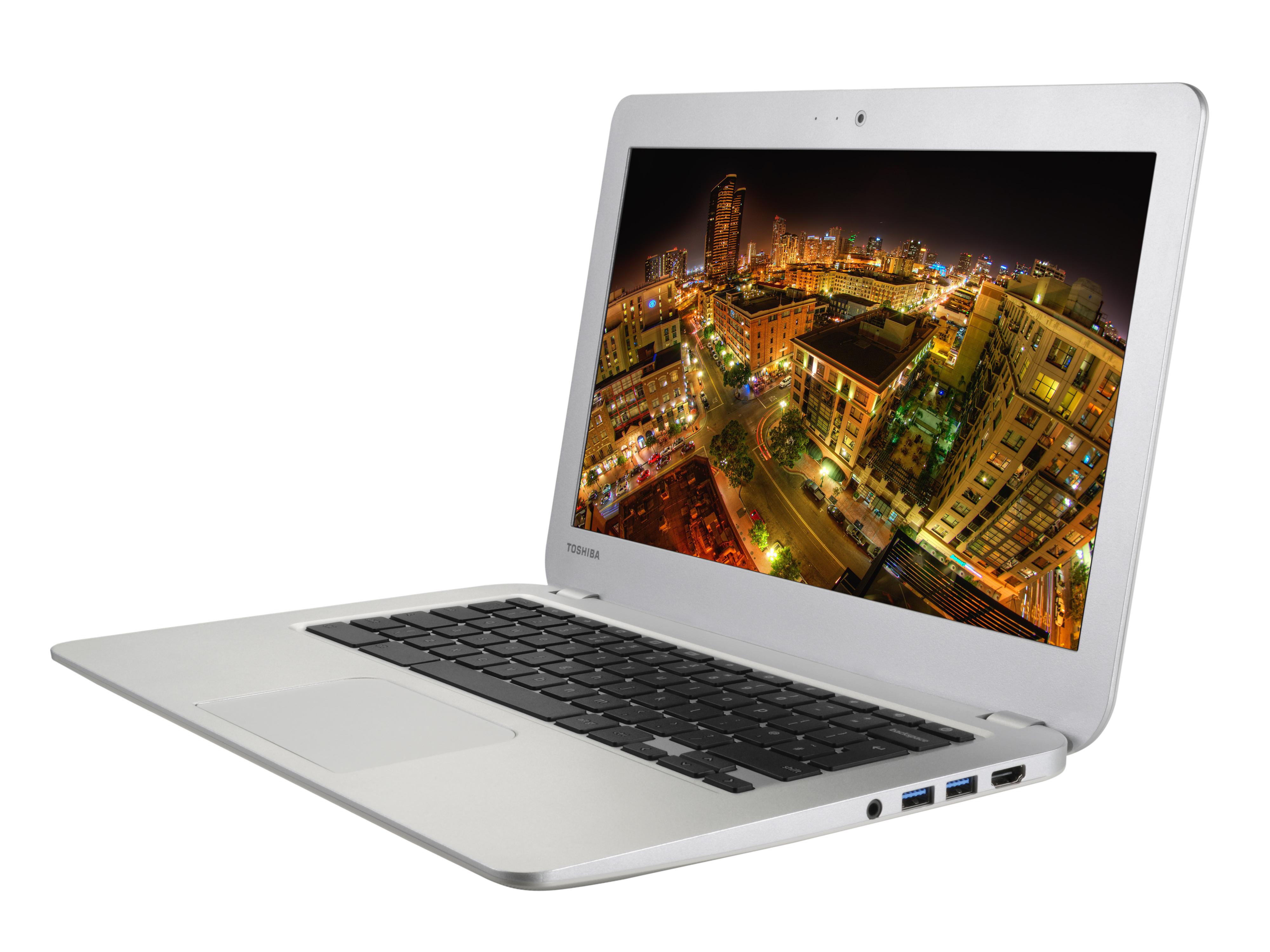 """Toshiba Chromebook 2 - subnotebook z 13,3"""" ekranem, Celeron i Chrome OS"""