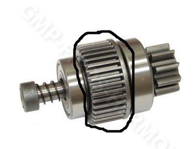 T25 - Rozrusznik zakr�ci raz i kreci si� sam silnik rozrusznika