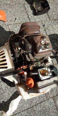 Stihl FS 131 przestał odpalać. -