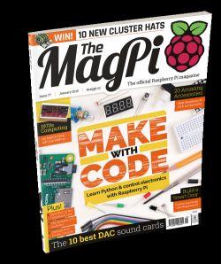 The MagPi - magazyn o Raspberry Pi - wydanie 77, styczeń 2019.