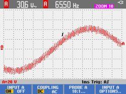 Autotransformator elektroniczny z regulowanym napięciem i częstotliwością