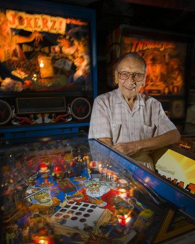 W wieku 100 lat odszedł Steve Kordek - twórca maszyn do gry typu pinball