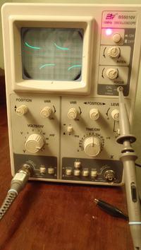 Oscyloskop BST BS5010V - brak mo�liwo�ci kalibracji sondy pomiarowej