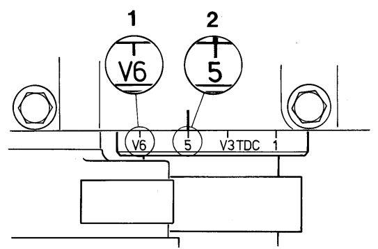 VOLVO FH12 380 - luz na zaworach
