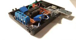 PIC16F1455 - 2kanałowy logger napięć