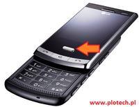 [Kupi�]LG KF750 - Poszukuje �rodkowego przycisku z panelu dotykowego