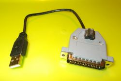 Uproszczenie układu sprawdzającego stan rejestru danych portu LPT