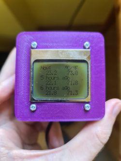 Termometr z pamięcią pomiarów