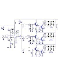 Kolorofon led na bazie schematu Jabel j-272