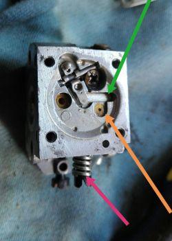 Stihl hs75 gaźnik zama c1q - Nie podaje paliwa po czyszczeniu