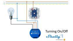 Shelly 1 - przekaźnik sterowany przez WiFi