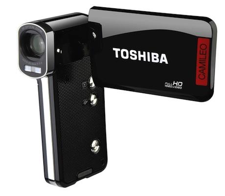 Camileo B10 - nowa miniaturowa kamera Toshiby