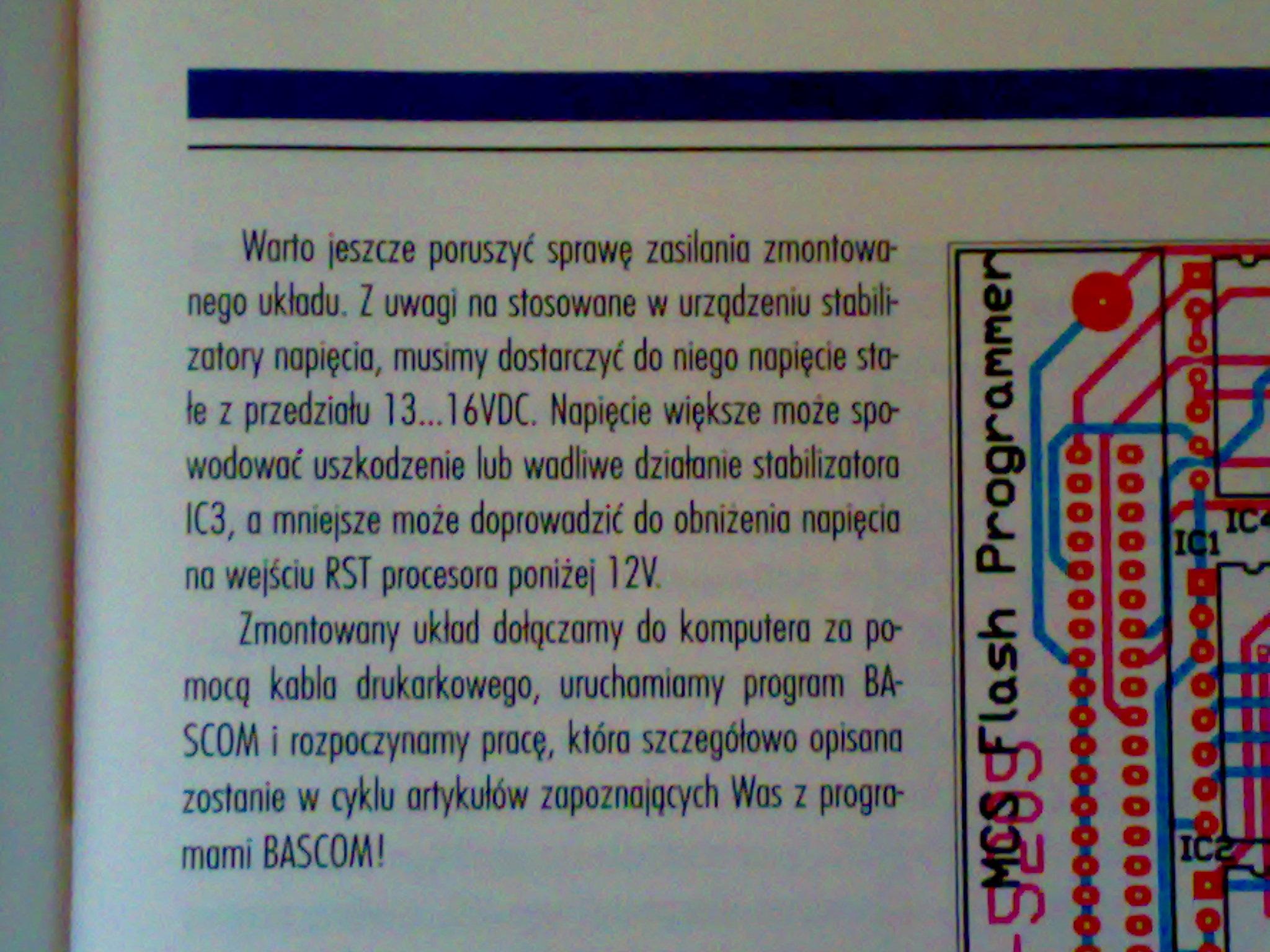 BASCOM - chip not the same as buffer. Co jest nie tak ?
