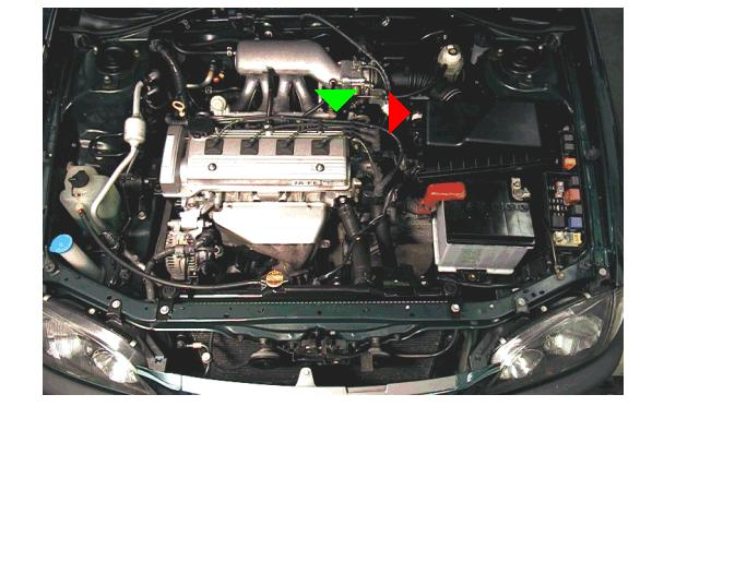 toyota avensis silnik 1.6 4A-FE czujnik temperatury