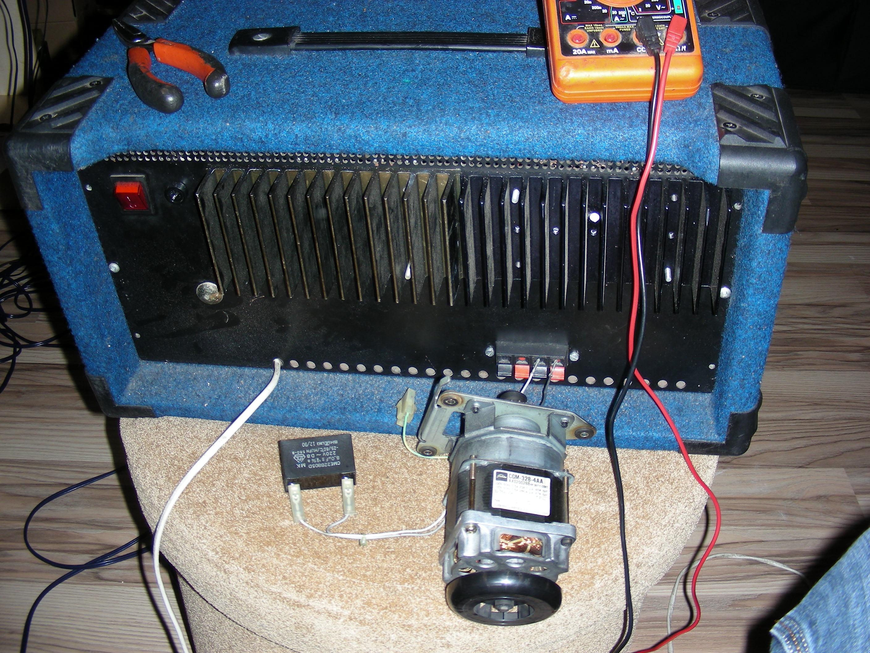 silnik indukcyjny w po��czeniu z ko�c�wk� mocy czyli falownik na szybko